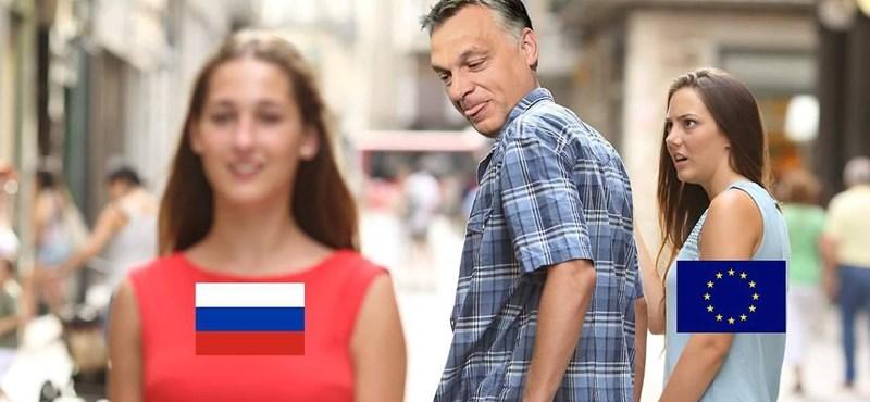 Putyin és Orbán alaposan felpörgették a mémgyárat, íme a legjobbak