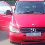 Trükkös módszerrel akart átjutni a határon egy román sofőr