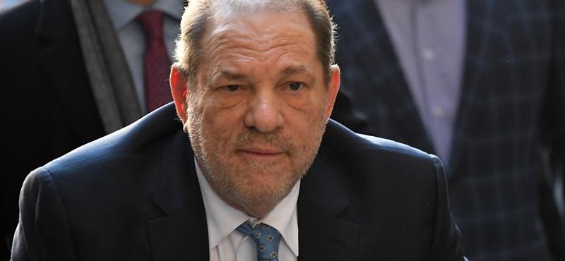 Harvey Weinstein is koronavírusos lett