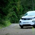 Driftelni is lehet az elektromos BMW i3-mal, mutatjuk