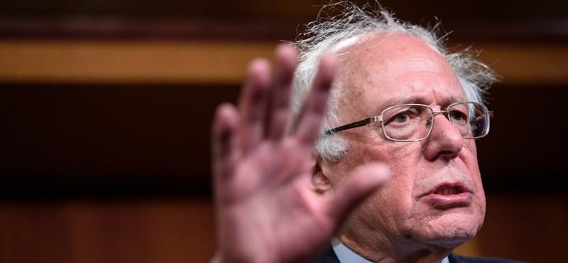Bernie Sanders elhagyhatta a kórházat