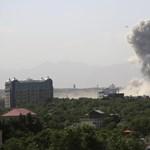 Robbantások Kabulban, többen meghaltak