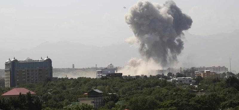 Halálos terrortámadás Afganisztánban