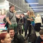 Fotó: Sokan rekedtek a ferihegyi reptéren