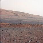 Megjöttek a Curiosity első részletes színes képei - fotók