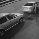 Rendszámokat lopkodó asszonyt keres a rendőrség - fotó
