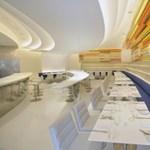 Ilyen lesz a New York-i Guggenheim Múzeum új étterme - játékos modernség