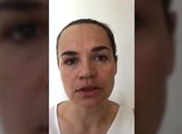 Videókban üzent a Litvániába szökött ellenzéki Szvjatlana Cihanouszkaja