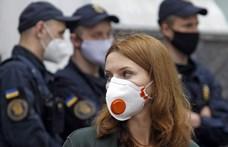 Egyetlen nap alatt ezernél is többen kerültek kórházba Ukrajnában a koronavírus miatt
