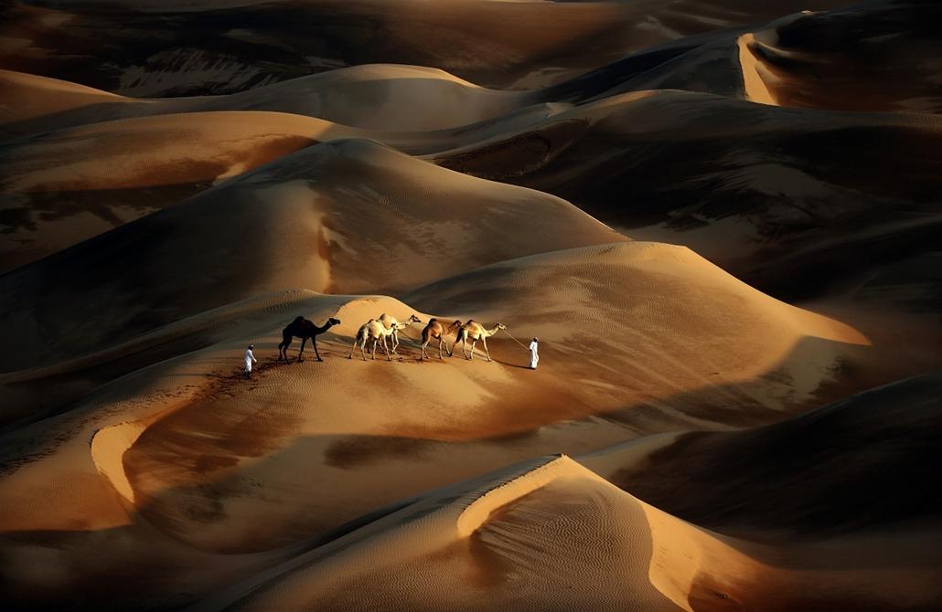 Abu Dhabi, Dubai: úton a Liwa sivatagban - hétképei