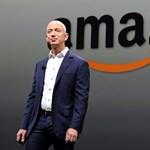 Jeff Bezos egyetlen nap leforgása alatt 3830 milliárd forinttal lett gazdagabb