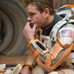 A világűrben is bemutatták az év sci-fijét