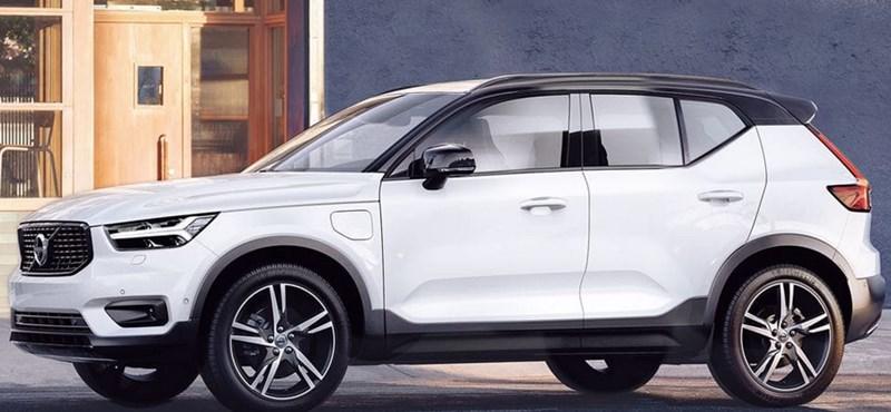 A legkisebb Volvo is zöld rendszámot kap, itt az új hibrid XC40