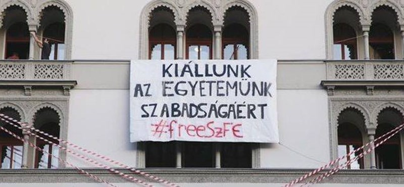 Tüntetést szerveznek a Színművészeti Egyetem hallgatói vasárnapra