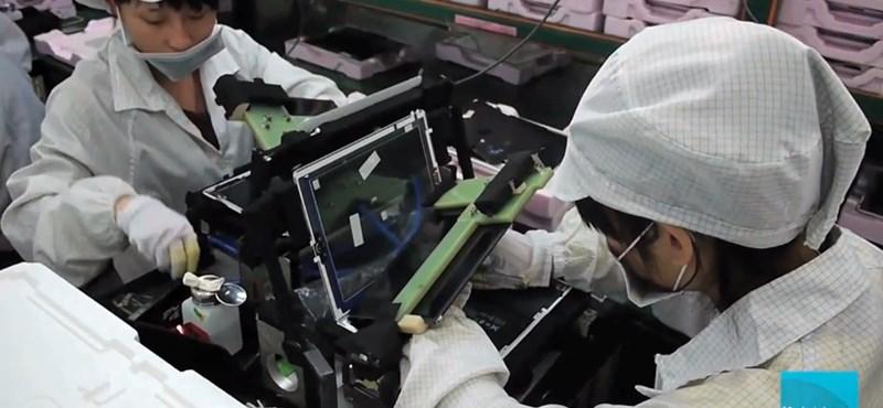 Így készül az iPad: felvételek a Foxconn gyárból [videó]