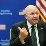 Amerikai nagykövet: a magyar tárgyalásoktól bevérzett a gyomorfekélyem