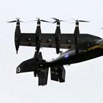 Úgy száll fel, mint egy helikopter, úgy repül, mint egy repülő – videó