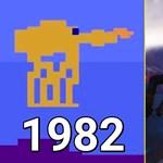 Videó: így változott 1982-től 2019-ig a Star Wars-játékok grafikája
