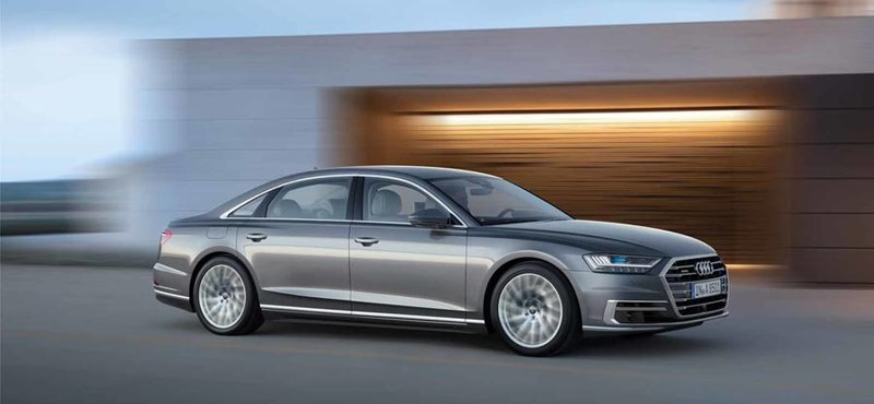Hivatalosan is itt az új Audi A8