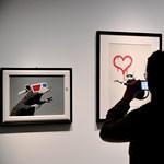 Egy Instagram-üzenetre válaszul született meg Banksy legújabb műve