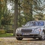 Egy luxuskocsit is lehet nyúzni, ebben a Maybachban egymillió kilométer van