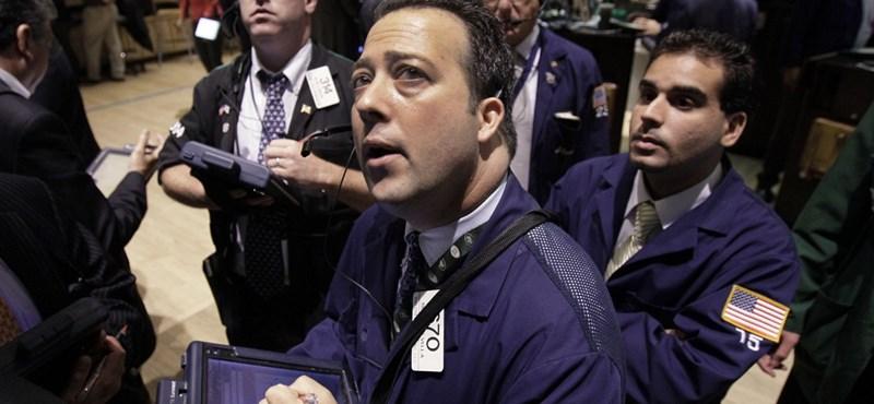 Hatalmas emelkedéssel nyitott a Wall Street