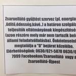 Zsaruellátó – kis helyesírási hibával
