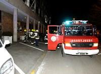 Rongálás miatt nyomoz a rendőrség az Országgyűlés Irodaházában beindult füstgránát ügyében