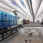Fotók: Átlátszó pályaudvarra fog hasonlítani az új Közlekedési Múzeum