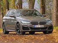 Dehogy halott a dízel: teszten az új BMW 530d kombi