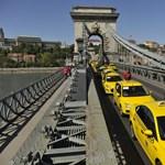 Ma is felvonulnak a taxisok, délután inkább ne próbáljon közlekedni Budapesten