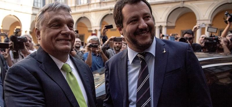 A Sargentini-jelentés és Orbán miatt szakíthat egymással Salvini és az Öt Csillag Mozgalom