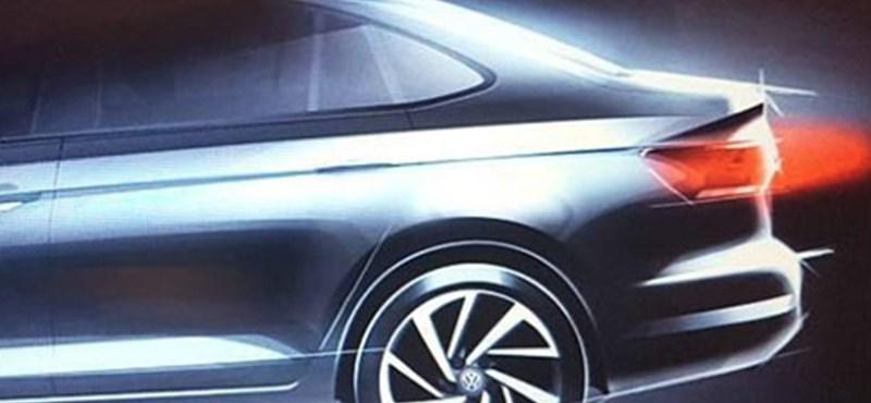 Újabb szemrevaló Volkswagen: íme a januárban támadó Virtus