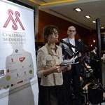 Orbán Viktor felesége újságírókat díjazott