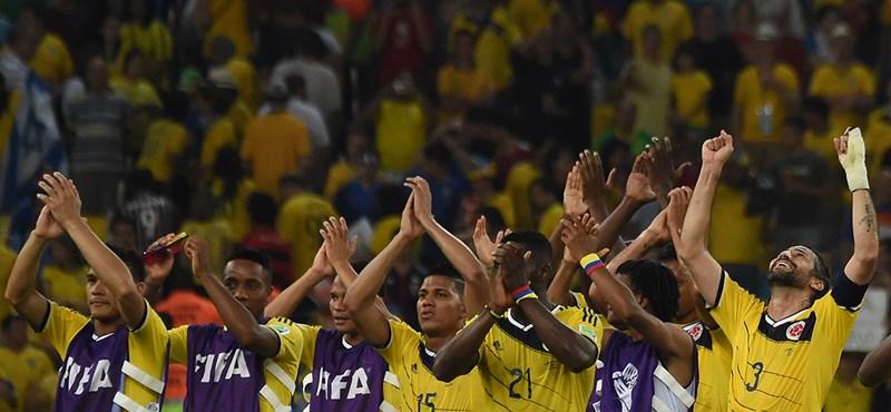 Rodriguez döntött - Kolumbia a nyolc között