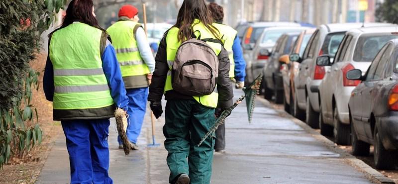 Fizetésemelést kapnak a közmunkások