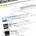 Milliók látják a SOPA ellenes bannert a Twitteren