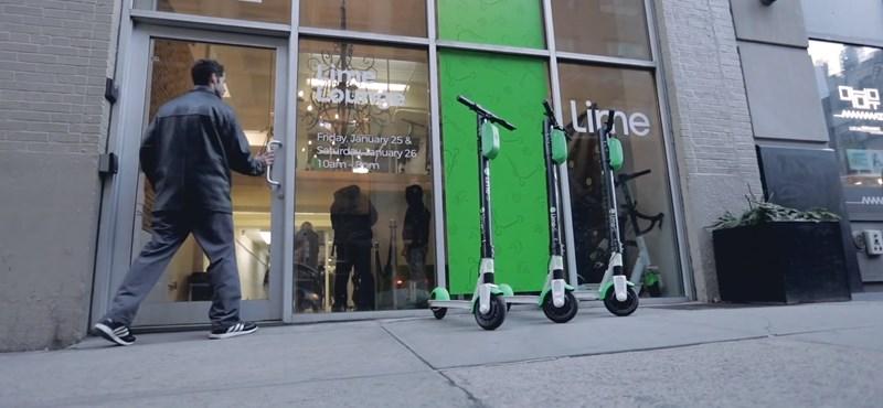 Budapestre is elhozzák a kölcsönözhető e-rollereket