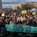 Globális klímasztrájk: több ezer diák tüntetett Budapesten