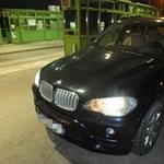 Gyönyörű körözött BMW X5-öst fogtak a román határon - fotó