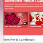 Valentin-napi videók az Animotón