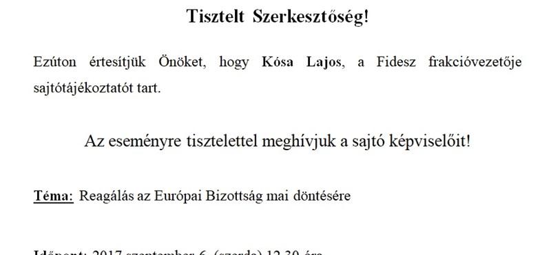 Azt sem tudja a Fidesz, mire reagál