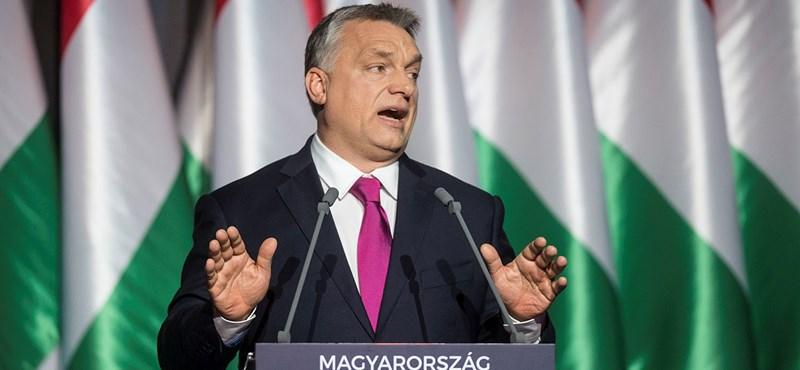 Hivatalos: vasárnap értékeli 2017-et Orbán