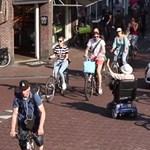 A nap videója: mégis lehet béke az autósok és a biciklisek között