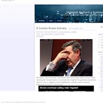 Gordon Brown kommunikációs baklövése