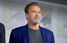 Schwarzenegger egy katonai járművel ment bevásárolni – fotó