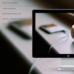 Letölthető háttérkép: Tea in tunes