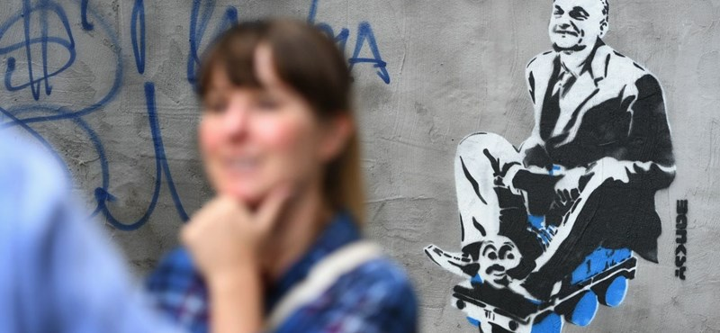 Újabb ál-Banksy Orbán-falfestmény támad Budapesten
