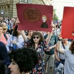 A The New York Times a szombati ellenzéki tüntetésről