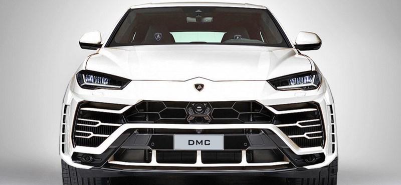 Puskagolyóként lő ki a 800 lóerő fölé húzott Lamborghini divatterepjáró